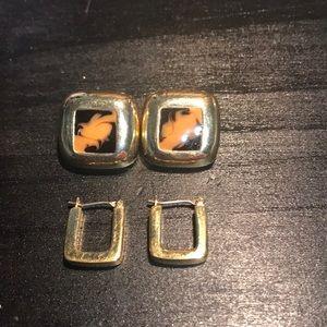 Jewelry - ⭐️In a bundle only⭐️Ralph Lauren/no brand earrings